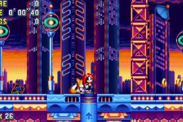 Sonic Mania Mighty The Armadillo Mania