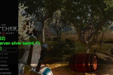 The Witcher 3: Wild Hunt Debug Console Enabler