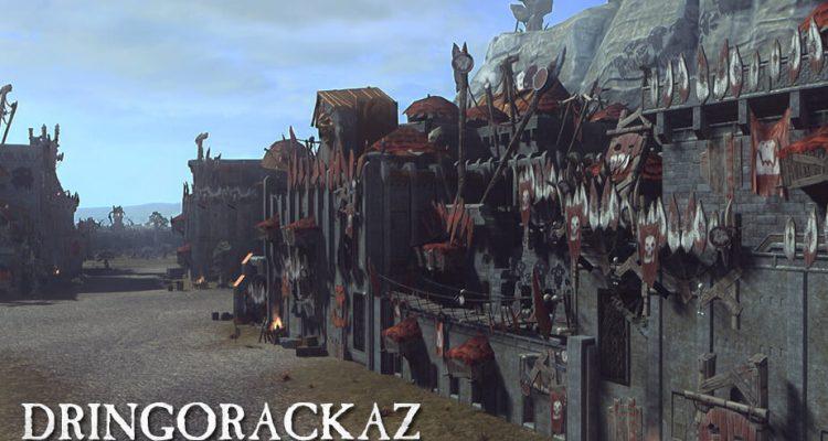 Total War: Warhammer 2 Dringorackaz, Dwarfs/Greenskins Map Pack