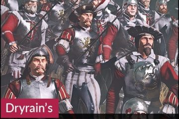 Total War: Warhammer 2 Dryrain's Empire Provinces Reskin