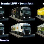 Transport Fever 40 tons Truck Set Swiss 1