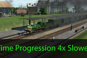Transport Fever Time Progression 4x Slower