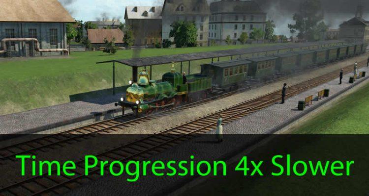 Transport Fever Time Progression 4x Slower