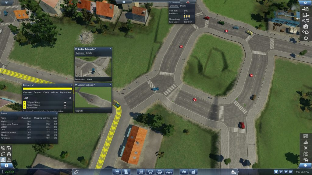 Transport Fever Traffic Filter