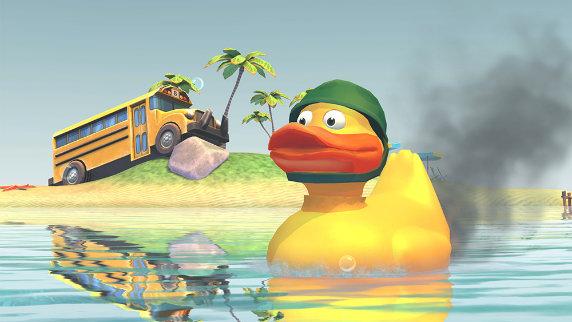 World of Ducks - новый режим для WoT Blitz