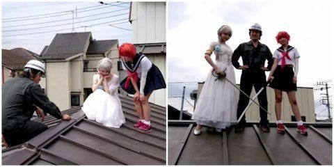 Запуск Cosplay Roofing Service в Японии