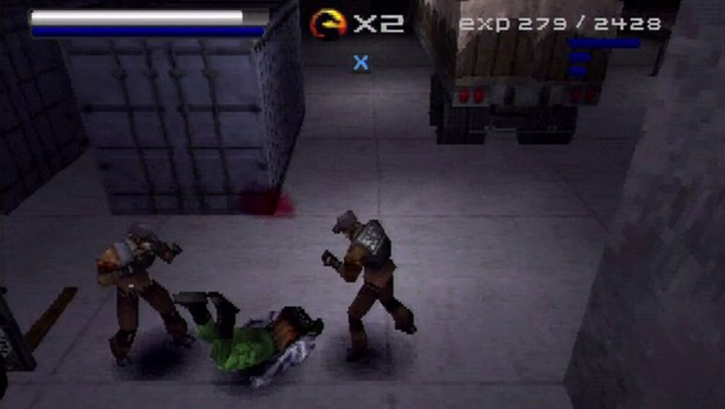Mortal Kombat: Special Forces (PS1)