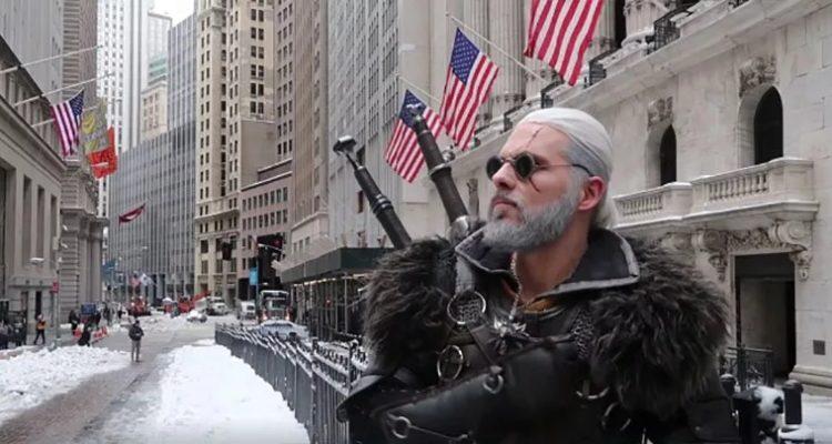 Белый волк Уолл-стрит