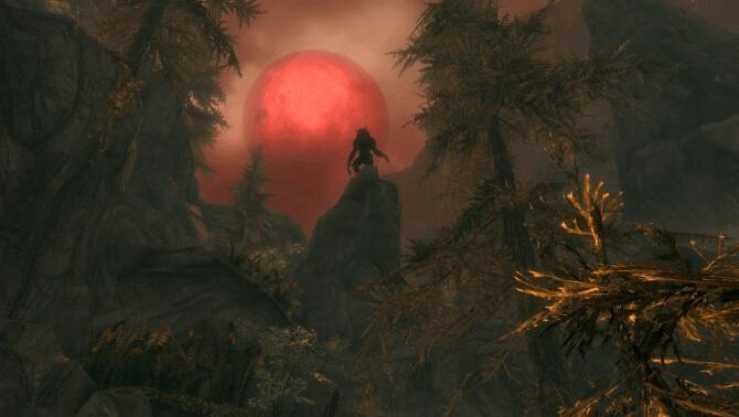 Зов луны - Skyrim