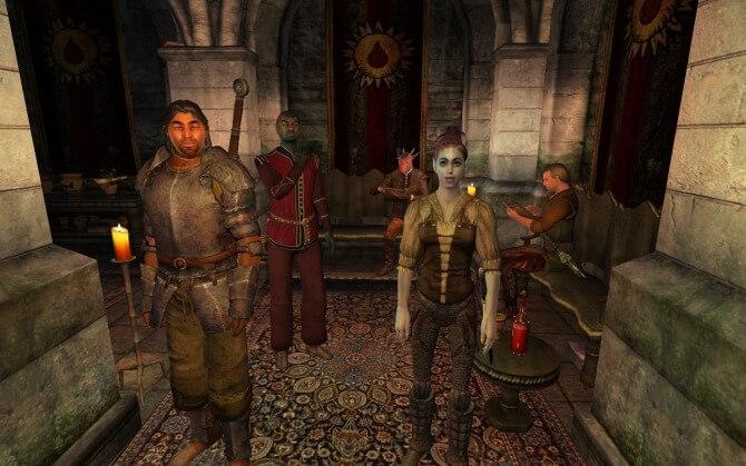 Орден Добродетельной крови - Oblivion