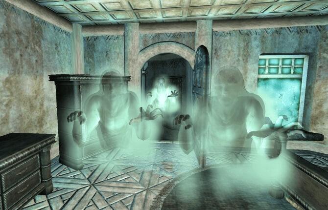 Там, где обитают духи - Oblivion