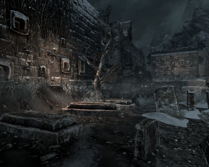 Кровь на снегу - Skyrim