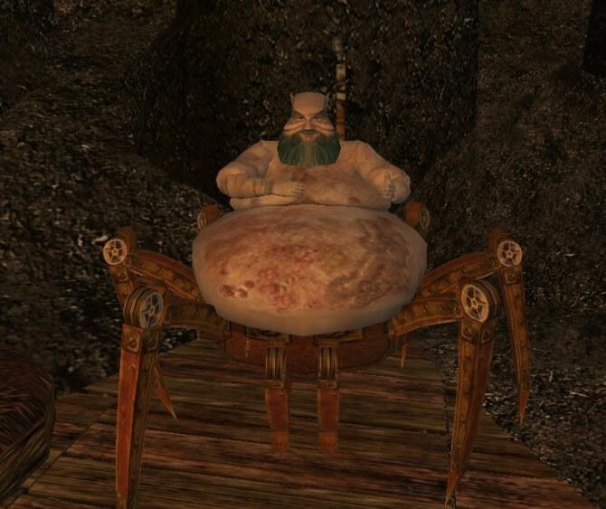 Исцеление от корпруса - Morrowind