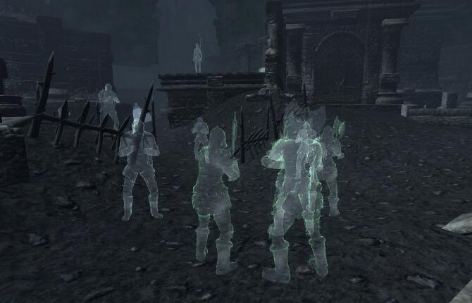 Призраки Вайтарна - Shivering Isles