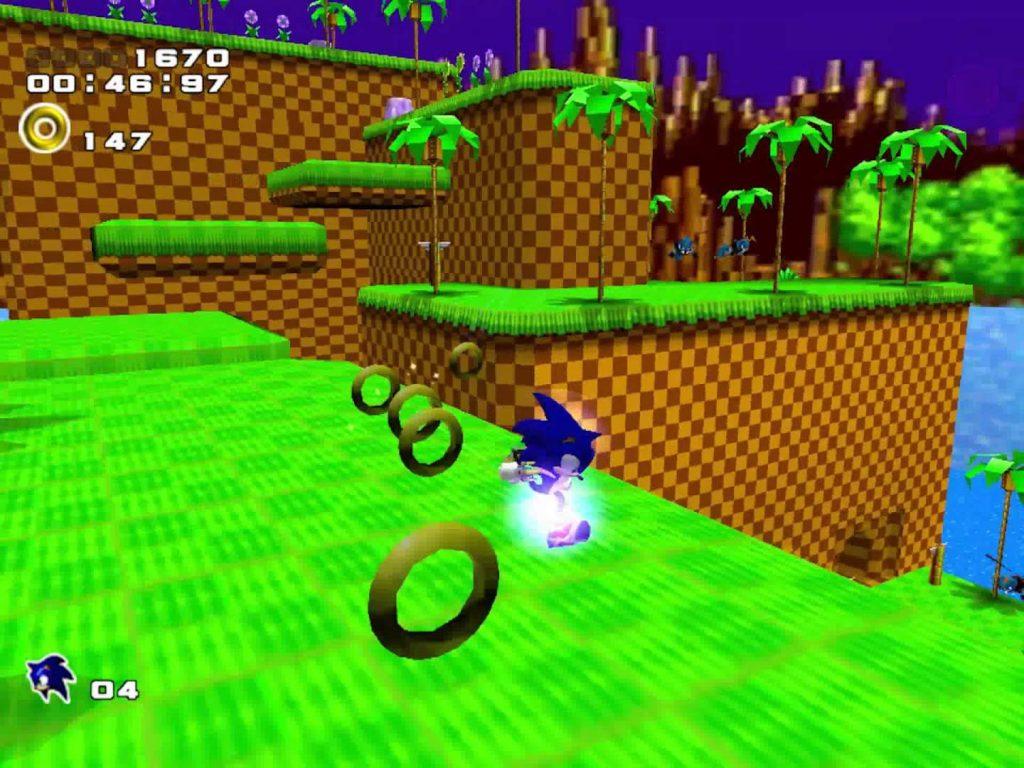 Sonic Adventure 2 – Уровень Green Hill Zone