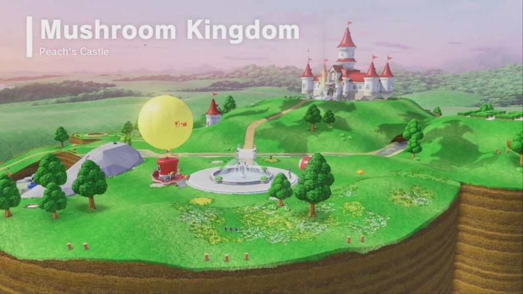 Super Mario Odyssey - Грибное королевство