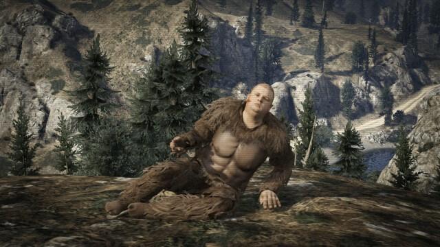 Серии GTA - Снежный человек