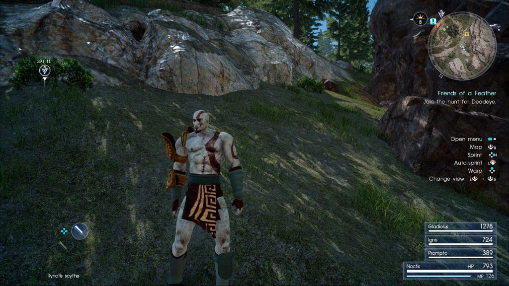 Кратос из God of War