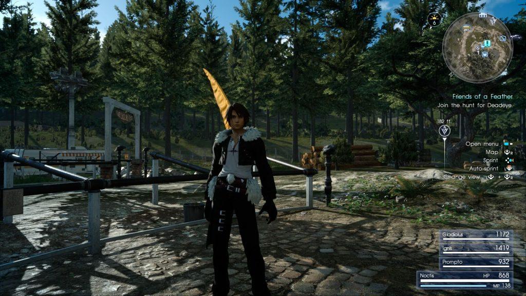 Шквал из Final Fantasy 8