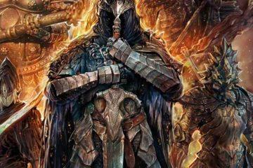 Мод Age of Fire для Dark Souls, ставит играбельного Гвина против сложнейшего комбо из боссов