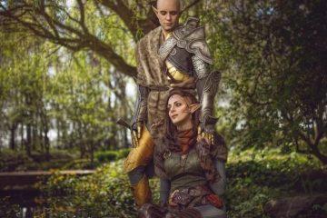 Dragon Age Cosplay - все о романтике