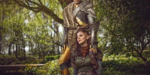 Dragon Age Cosplay - все о романтике