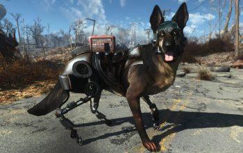 Мод добавляющий Киберпса Рекса из New Vegas в Fallout 4