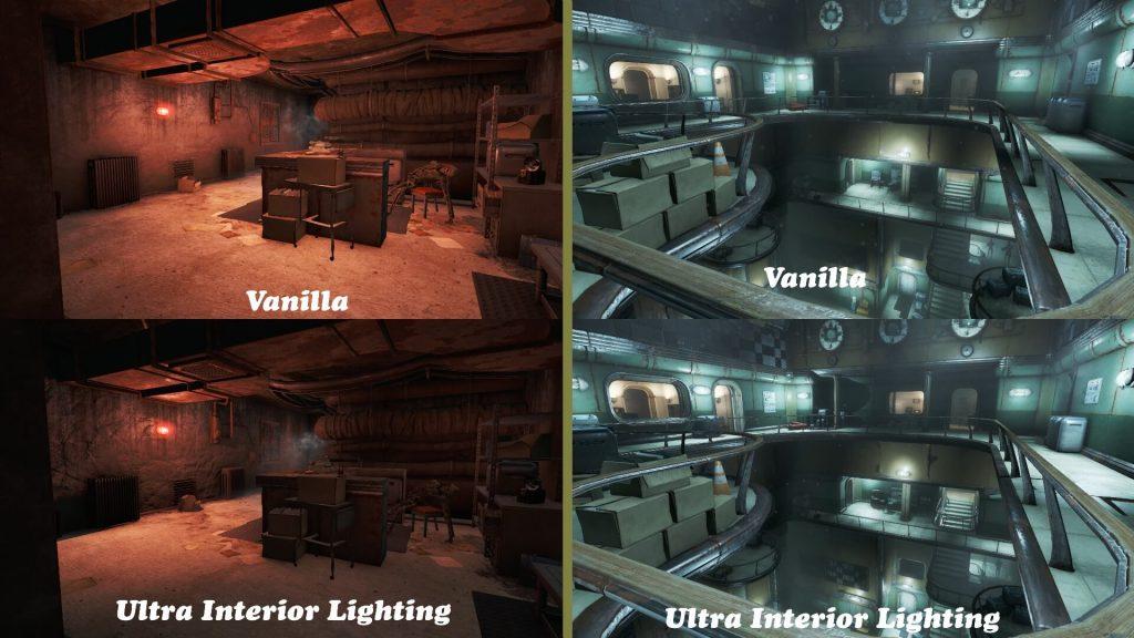 Мод Fallout 4 перерабатывает освещение, тени, ambience и туман