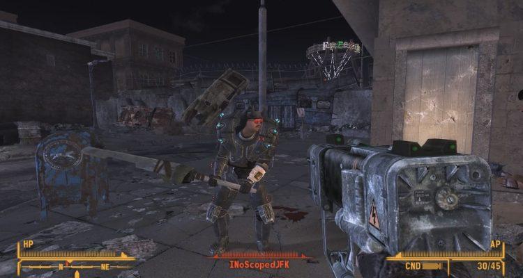 Мод даст часть опыта Fallout 76 в Fallout New Vegas