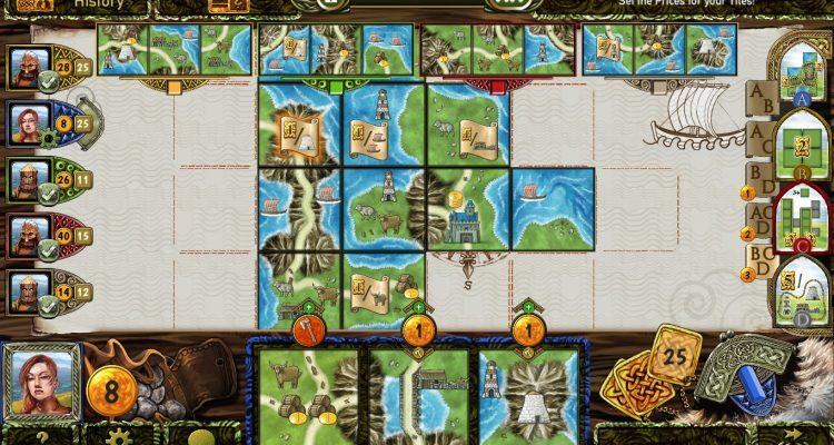 Игра Isle of Skye (Остров Скай): килты и выкладка тайлов на Steam
