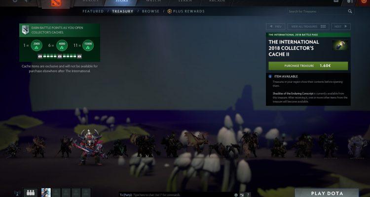 Игроки Dota 2 из Нидерландов смогут посмотреть, что находится в лутбоксах, до их приобретения