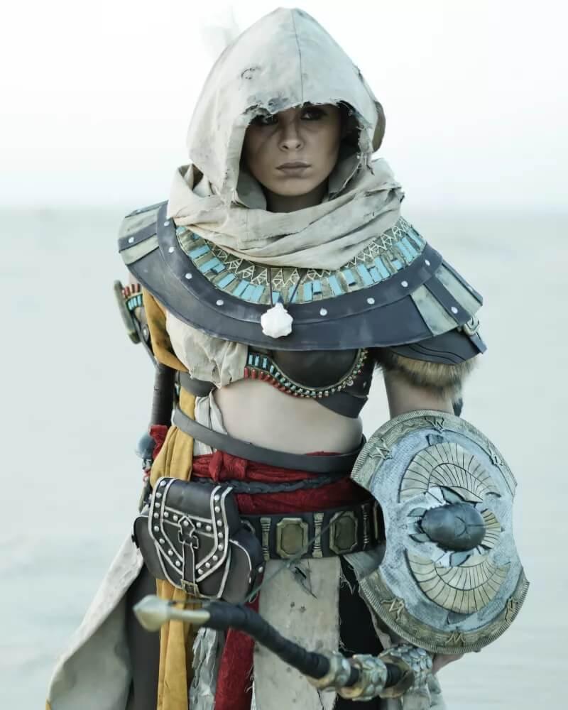 Это Байек из Assassin's Creed Origins