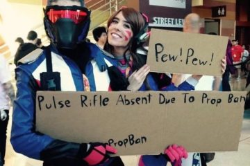Как косплеить, когда пушки запрещены