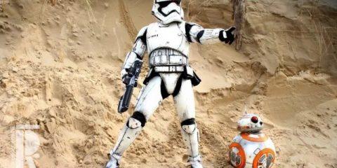 Косплей на Звездные войны не только для взрослых