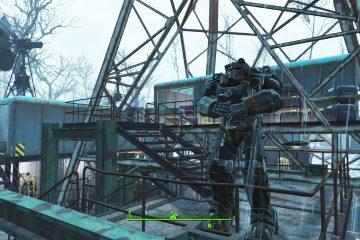 Мод Northern Springs для Fallout 4 добавляет новые заснеженные территории