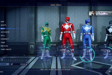 Невероятный мод Power Rangers для Final Fantasy XV
