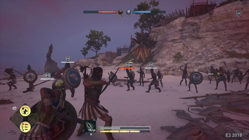 Масштабные сражения