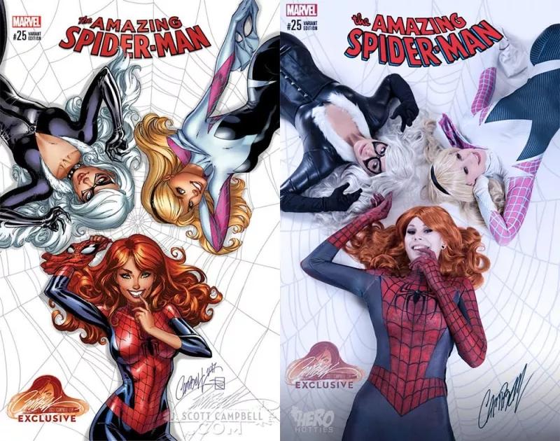 Обложка Amazing Spider-Man