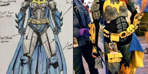 От Эскиза до Batgirl