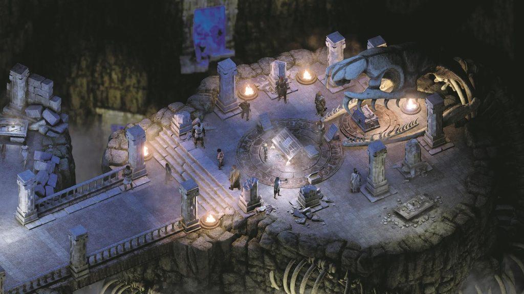 Мод Pillars of Eternity 2 увеличивает сложность за счет роста уровней противников