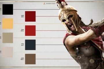 Помощь косплейщикам над костюмами Assassin's Creed Odyssey