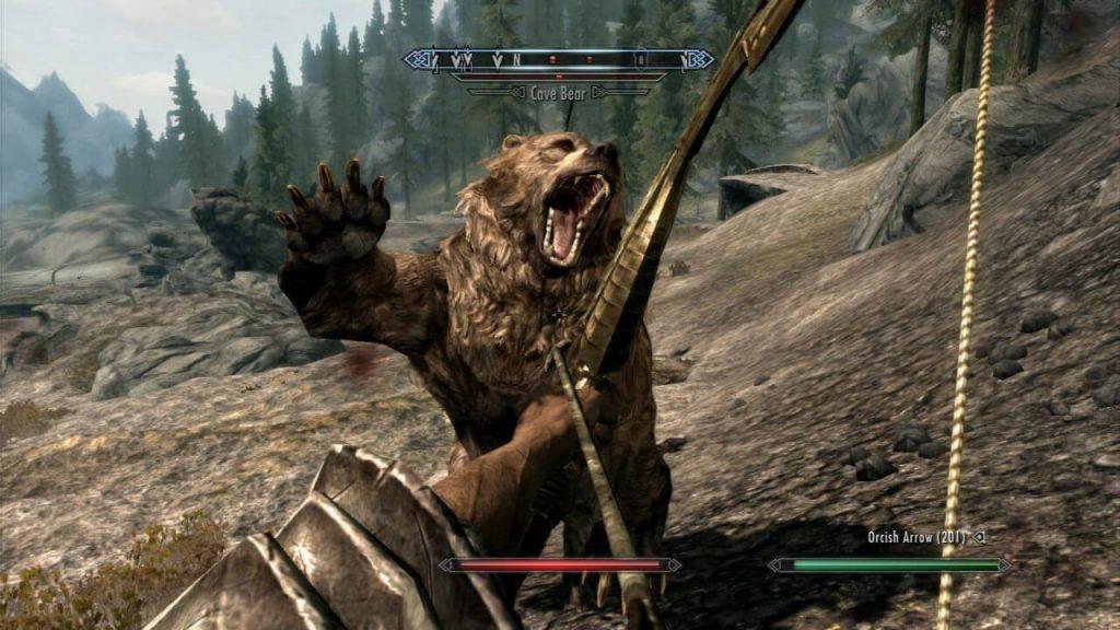Медведи в игре куда опаснее любой мифологической твари.