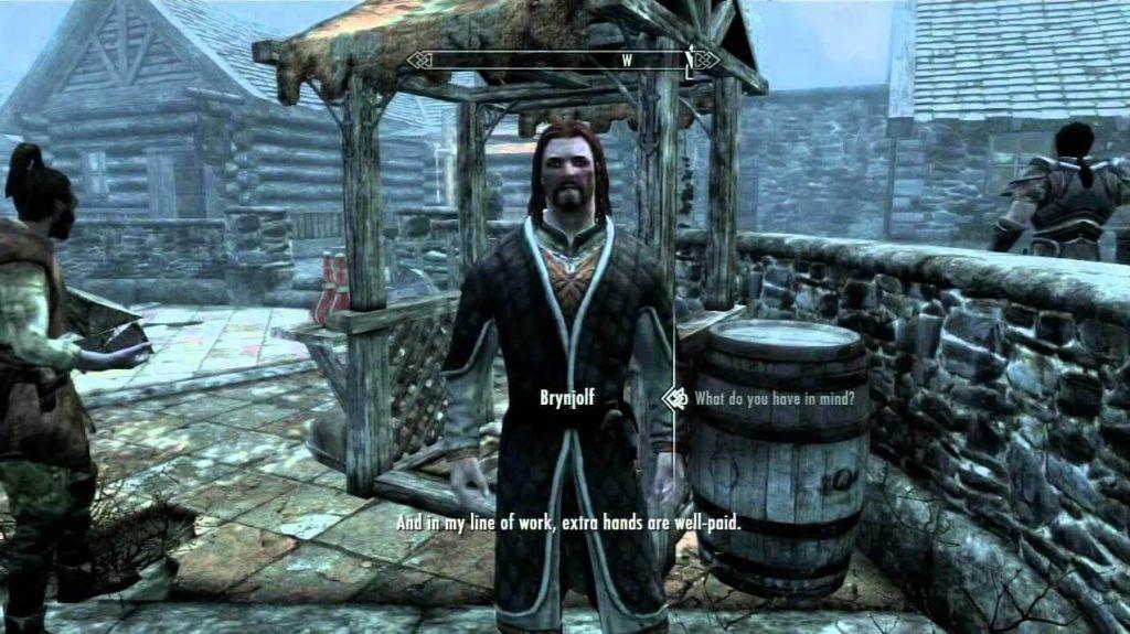 Механика диалогов в Skyrim выполнена неплохо, но меркнет по сравнению с другими играми от Bethesda.