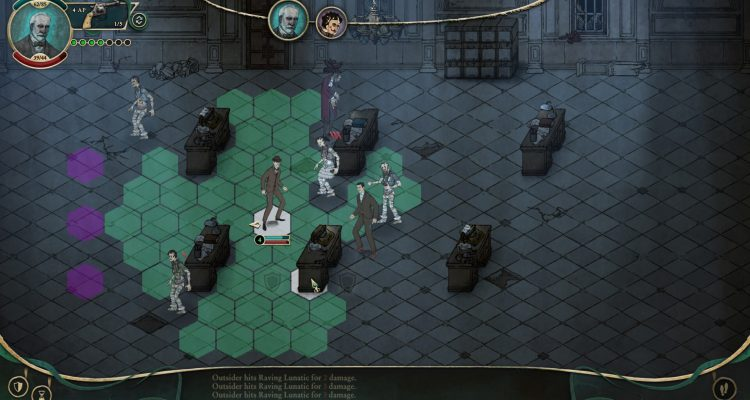 Stygian: Reign of the Old Ones - классическая RPG в мире Лавкрафта