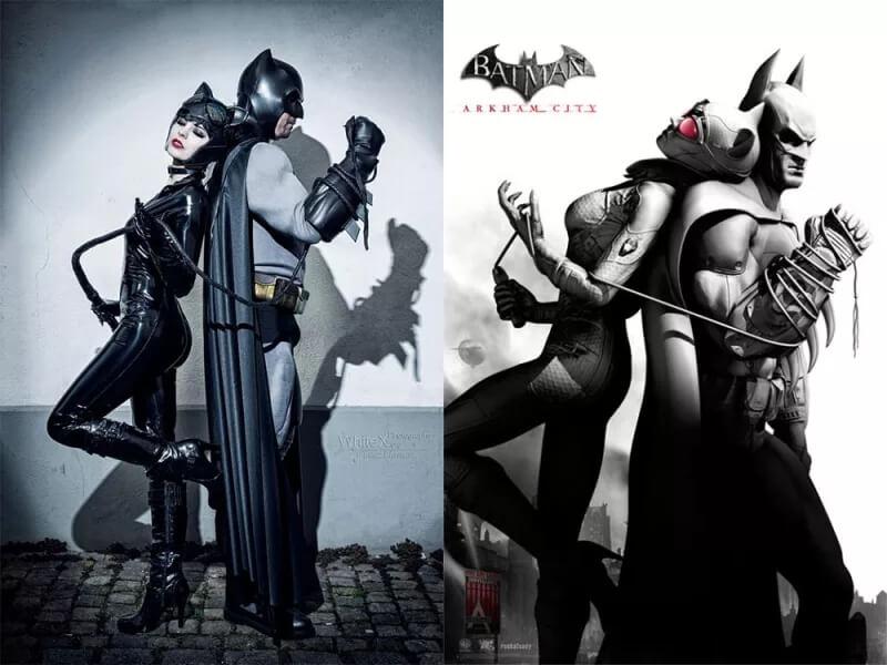 The Bat & The Cat (Летучая мышь и кошка)