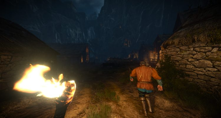 Мод с режимом от первого лица для The Witcher 3