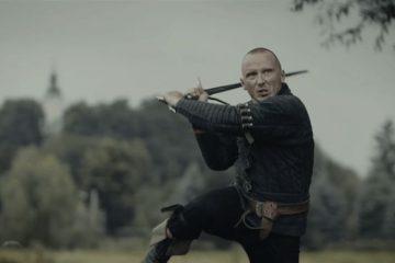 Актер захвата движения Геральта отлично владеет мечом