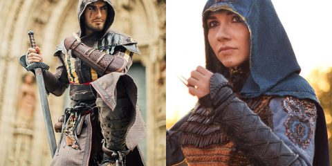 Assassin's Creed: The Movie косплей