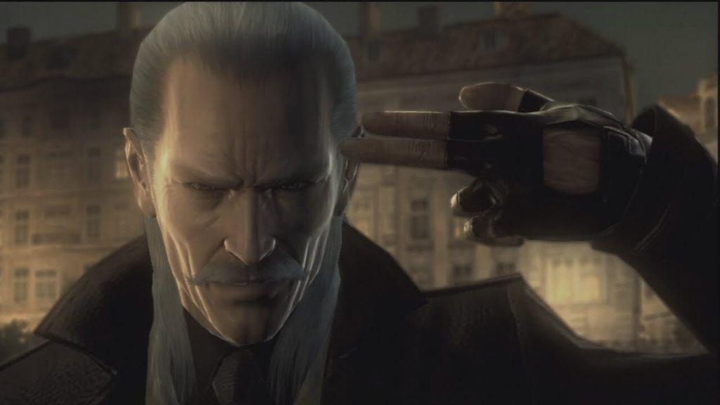 Liquid Ocelot – Metal Gear Solid 4: Guns of the Patriots – 2008