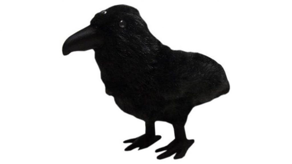 Плюшевый трехглазый ворон